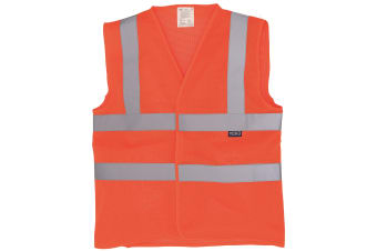 Yoko Hi-Vis Open Mesh Vest / Jacket (Hi Vis Orange)