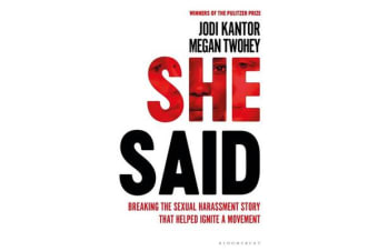 She Said - The New York Times Bestseller