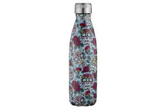 Avanti Fluid Vacuum Bottle 500ml Mexican Skull