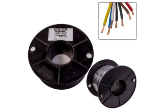 7 CORE 2MM x 100 METRES CABLE WIRE WIRING AUTOMOTIVE TRAILER CARAVAN TRUCK OWL