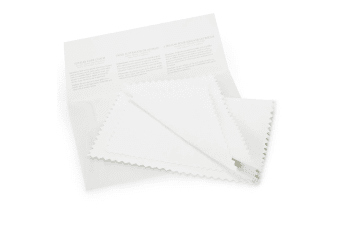 Premium Jewellery Cleaning Cloth-White