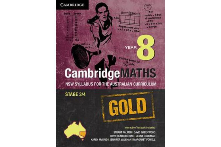 Cambridge Mathematics Gold NSW Syllabus for the Australian Curriculum Year  8 Pack (Textbook and Interactive Textbook)