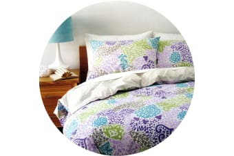 Felicity Quilt Cover Set Queen by Homeport