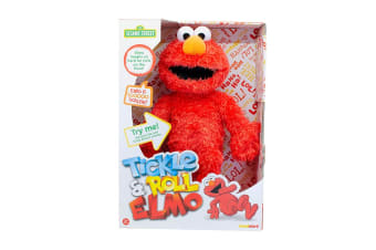 Sesame Street Tickle & Roll Elmo