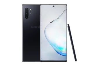 Samsung Galaxy Note10+ 5G (512GB, Aura Black) - Australian Model