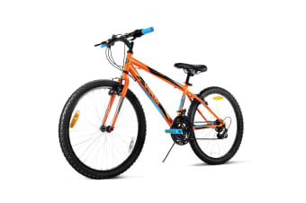 Huffy 24 Inch 60cm Mountain Bike Mens Womens Unisex Bicycle 15Speed City Road
