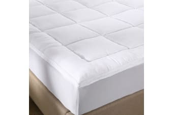 Royal Comfort 1000GSM Memory Mattress Topper Cover Protector Underlay - King