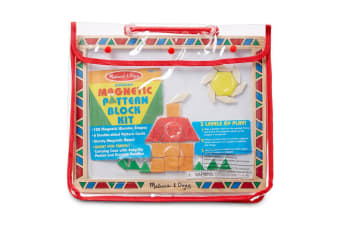 Melissa and Doug Magnetic Pattern Block Set