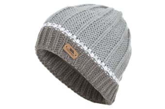 Trespass Childrens/Kids Mufasa Knitted Beanie Hat (Platinum)
