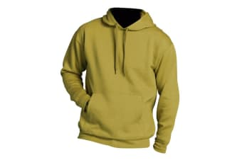 SOLS Slam Unisex Hooded Sweatshirt / Hoodie (Lemon)