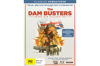 The Dam Busters Remastered Blu-ray Region B
