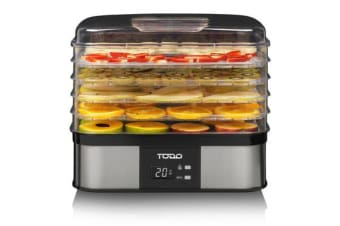 TODO Digital electric Food Dehydrator stainless steel