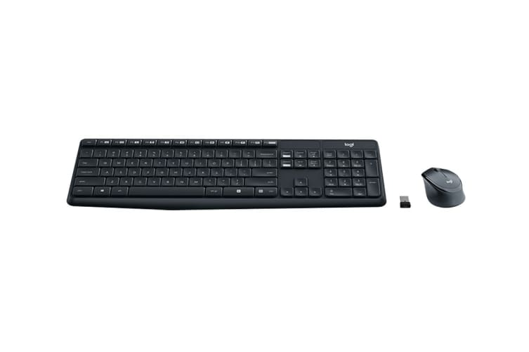 Logitech MK315 Quiet Wireless Combo - Black (920-009068)