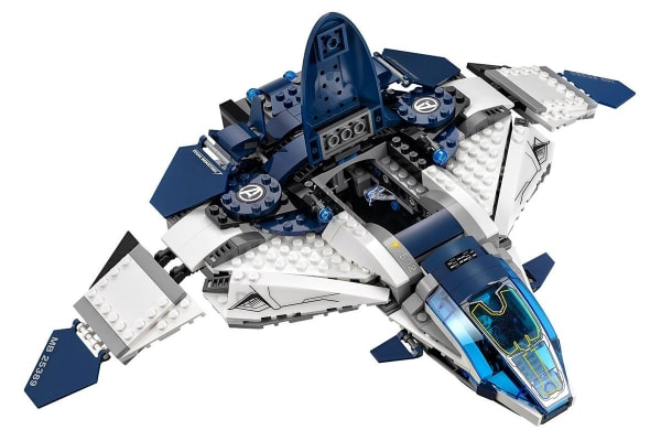 Lego Marvel Avengers 2 Movie - The Avengers Quinjet City Chase