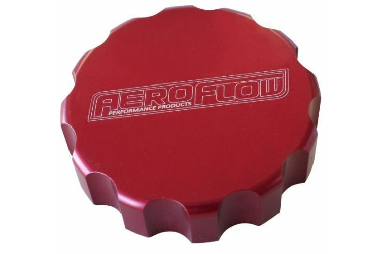 Aeroflow Aeroflow Radiator Cap Cover Small Style Cap Red