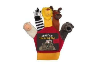 Very Cranky Bear - Five in the Bed Hand Puppet