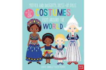 Mother and Daughter Dress-Up Dolls - Costumes From Around the World