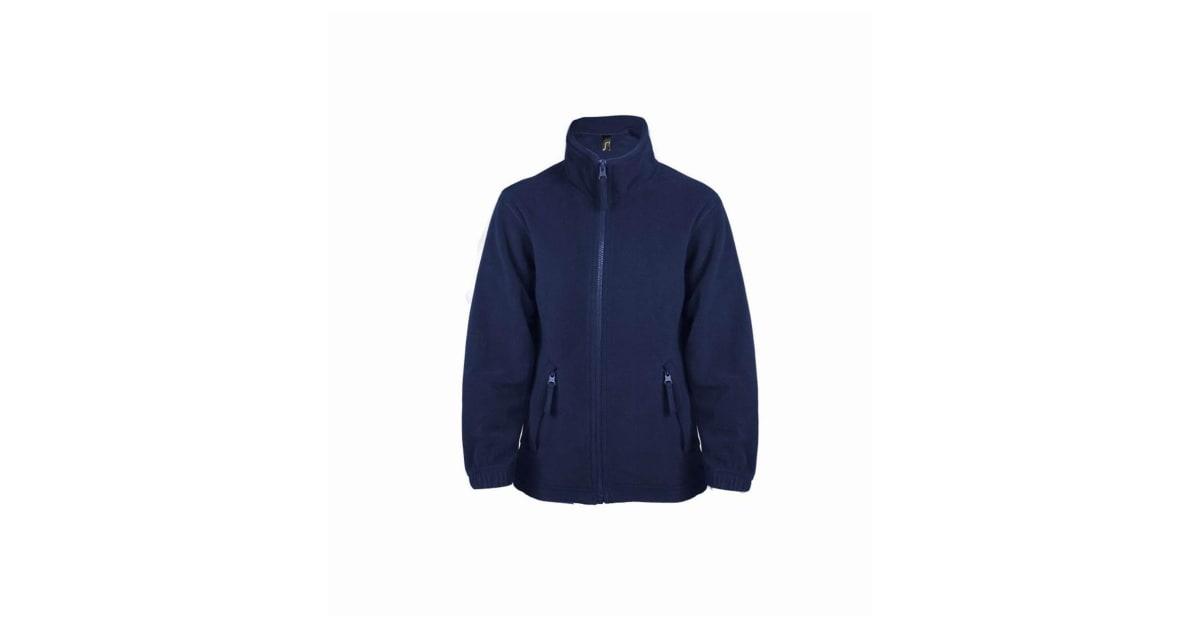 SOLS Childrens//Kids North Zip-Up Fleece Jacket
