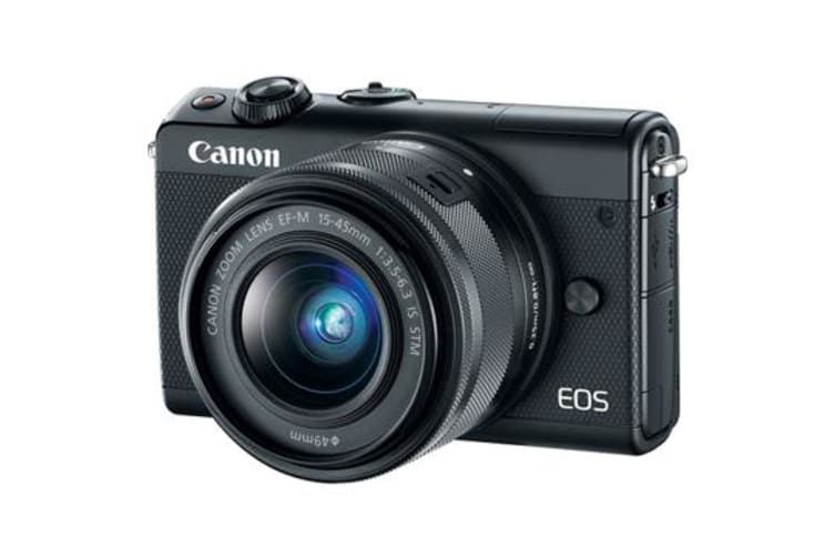 New Canon EOS M100 kit (15-45mm) Digital Cameras Black (FREE DELIVERY + 1 YEAR AU WARRANTY)