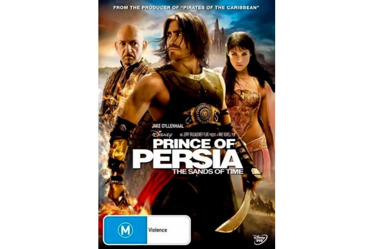 Prince of Persia The Sands of Time - Rare- Aus Stock DVD Preowned: Excellent Condition