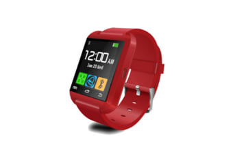 Smart Watch For Android Phones,Smart Watches With Text,Bluetooth Watch Phone Red