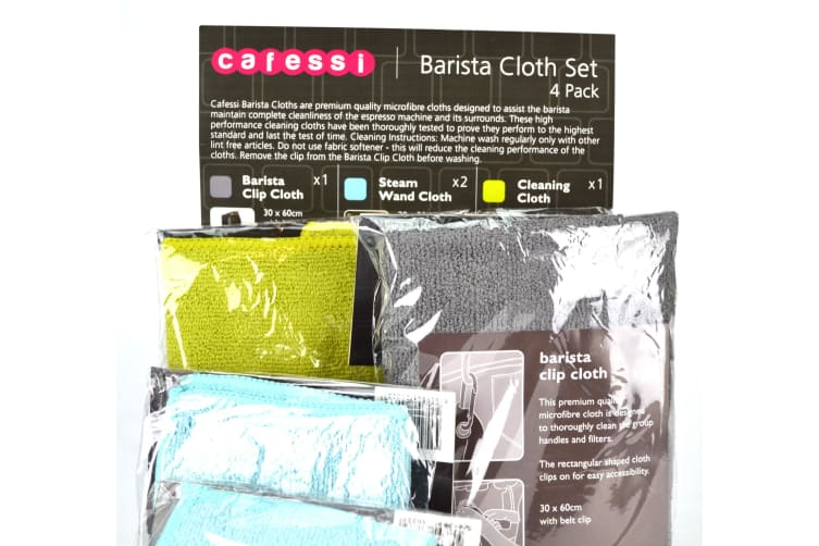 Barista Cleaning Cloth Set Of 4