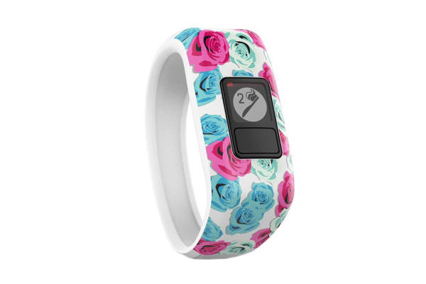 Garmin Vivofit Jr. (Real Flower)