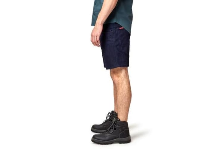 Hard Yakka 3056 Denim Shorts (Dark Indigo, Size 107R)