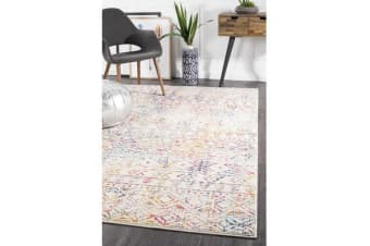 Amelia Multi Scandi Durable Rug