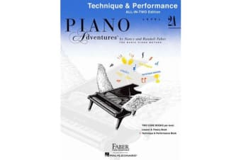 Piano Adventures - Technique and Performance Book - Level 2a