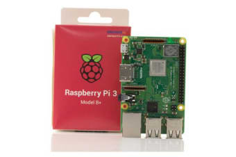 Raspberry Pi 3 Model B+ Official Starter Kit Black Edition with OS (Inc New Pi3 Mainboard