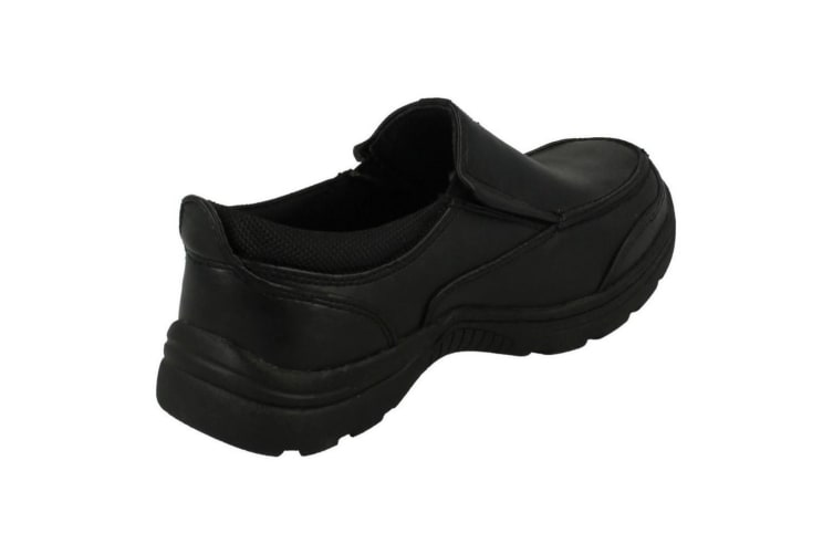 Cool For School Childrens Boys Slip On School Shoes (Black) (UK Size 10 Child)