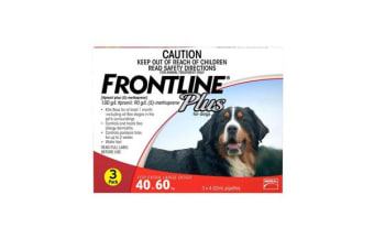Frontline Plus Dog Extra Large Red - 3p
