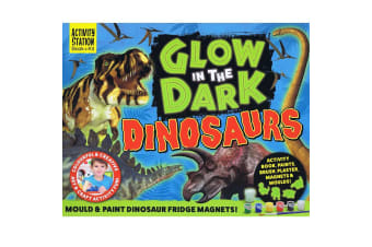 Glow In The Dark Dinosaurs - Activity Station Book + Kit