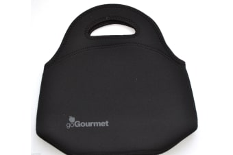Go Gourmet Lunch Bag Black