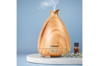 Devanti Ultrasonic Aroma Aromatherapy Diffuser LED Essential Oil Humidifier LW