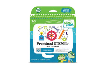 LeapFrog LeapStart Pre-K STEM with Teamwork Book