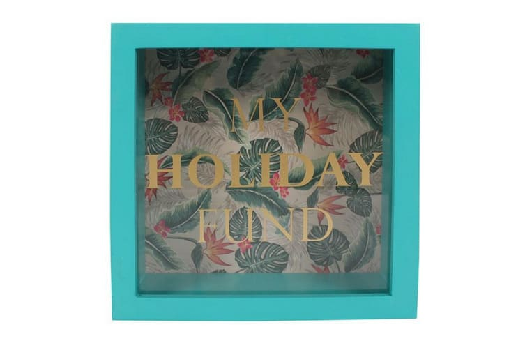 Something Different Tropical Island Holiday Money Box (Green) (One Size)