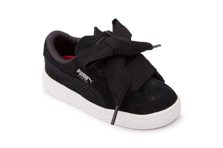 Puma Infants Suede Heart Valentine (Black, Size 9)