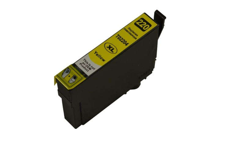 220YXL Yellow Premium Compatible Inkjet Cartridge