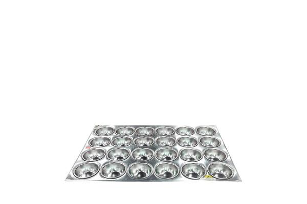 Chef Inox Muffin Pan Alum 24 Cup