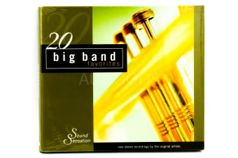 20 Big Band Favorites BRAND NEW SEALED MUSIC ALBUM CD - AU STOCK