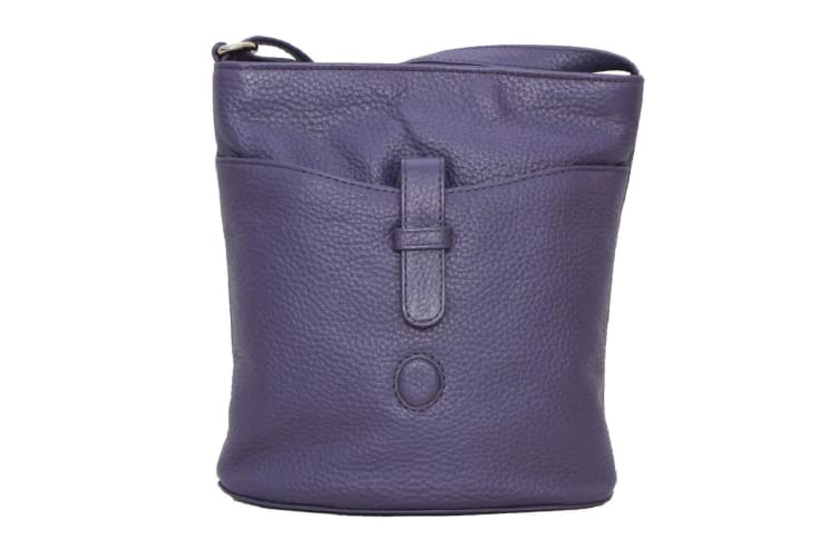 Eastern Counties Leather Womens/Ladies Faye Handbag (Purple) (One size)