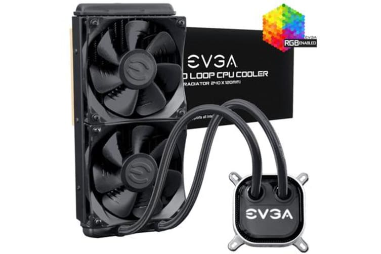 EVGA 240 All in One Watercooling With RGB LED