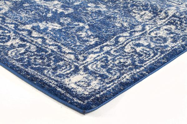 Oasis Navy Transitional Rug 400x80cm