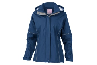 Result Womens/Ladies Urban Outdoor La Femme® Lightweight Technical Jacket (Waterproof & Windproof) (Royal) (XS)