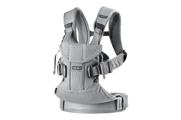BabyBjorn Baby Carrier One Air (Silver Mesh)