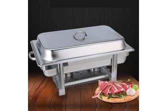 9L Bain Marie Chafing Dish Stainless Steel Food Warmer