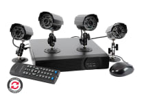 Utmark 4 Channel 4 Weather Proof Cameras DVR Surveillance Kit With 1TB HDD - Refurbished