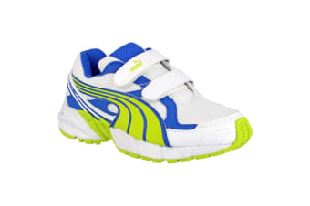 Puma Axis Mesh V2 Boys Trainers (Lime) (2 UK)